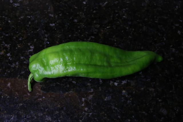 Pimiento verde dulce italiano