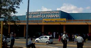 Welcome to Habana! the Jose Marti International Airport