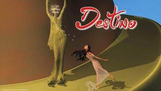 Destino, resultado do trabalho de Salvador Dalí com a Disney