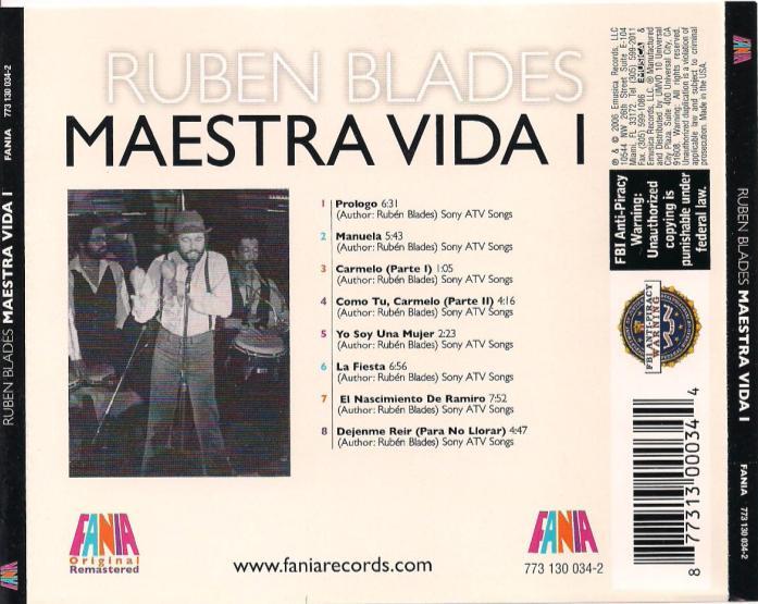 Maestra Vida Ruben Blades   apexwallpapers.com