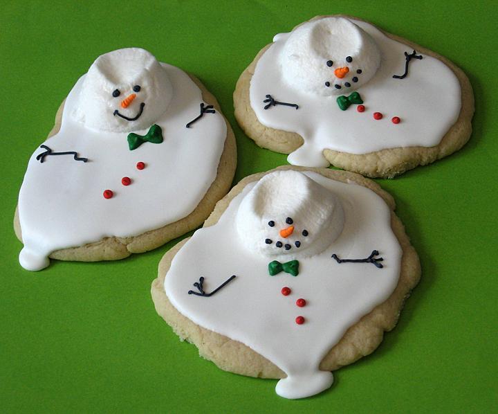 Auraea Sunshine Bake Shoppe Melting Snowmen Cookies