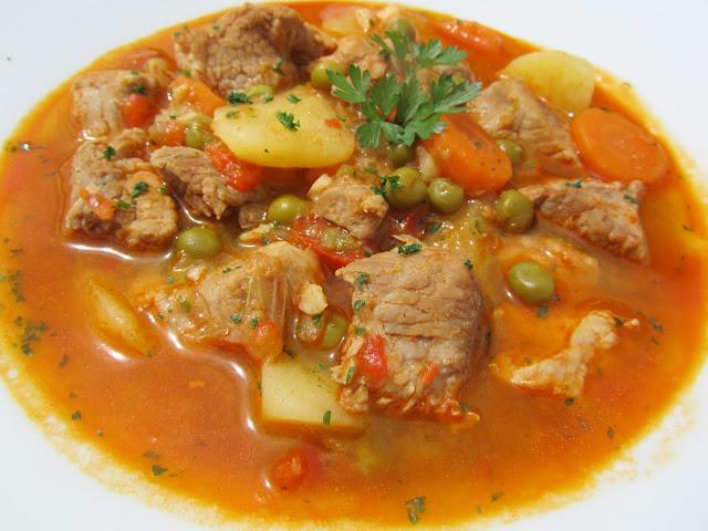 Estofado de cerdo y verduras Ana Sevilla con Thermomix