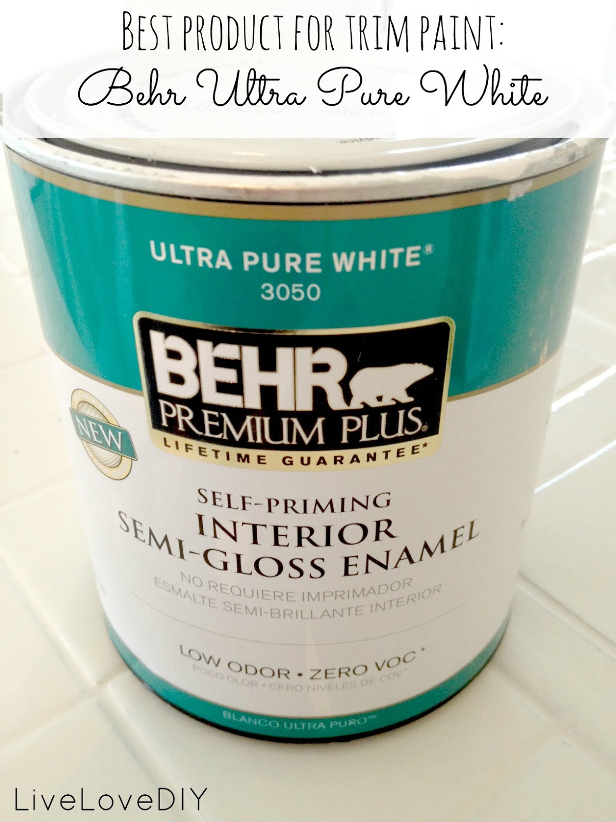 Livelovediy a diy blogger 39 s guide to paint products that for What to paint trim with