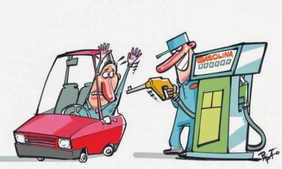 Aumento dos combustíveis