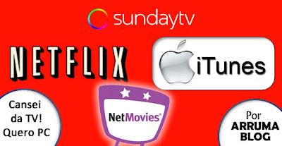 IMAGEM: Vamos ver conteúdo de TV pela web?
