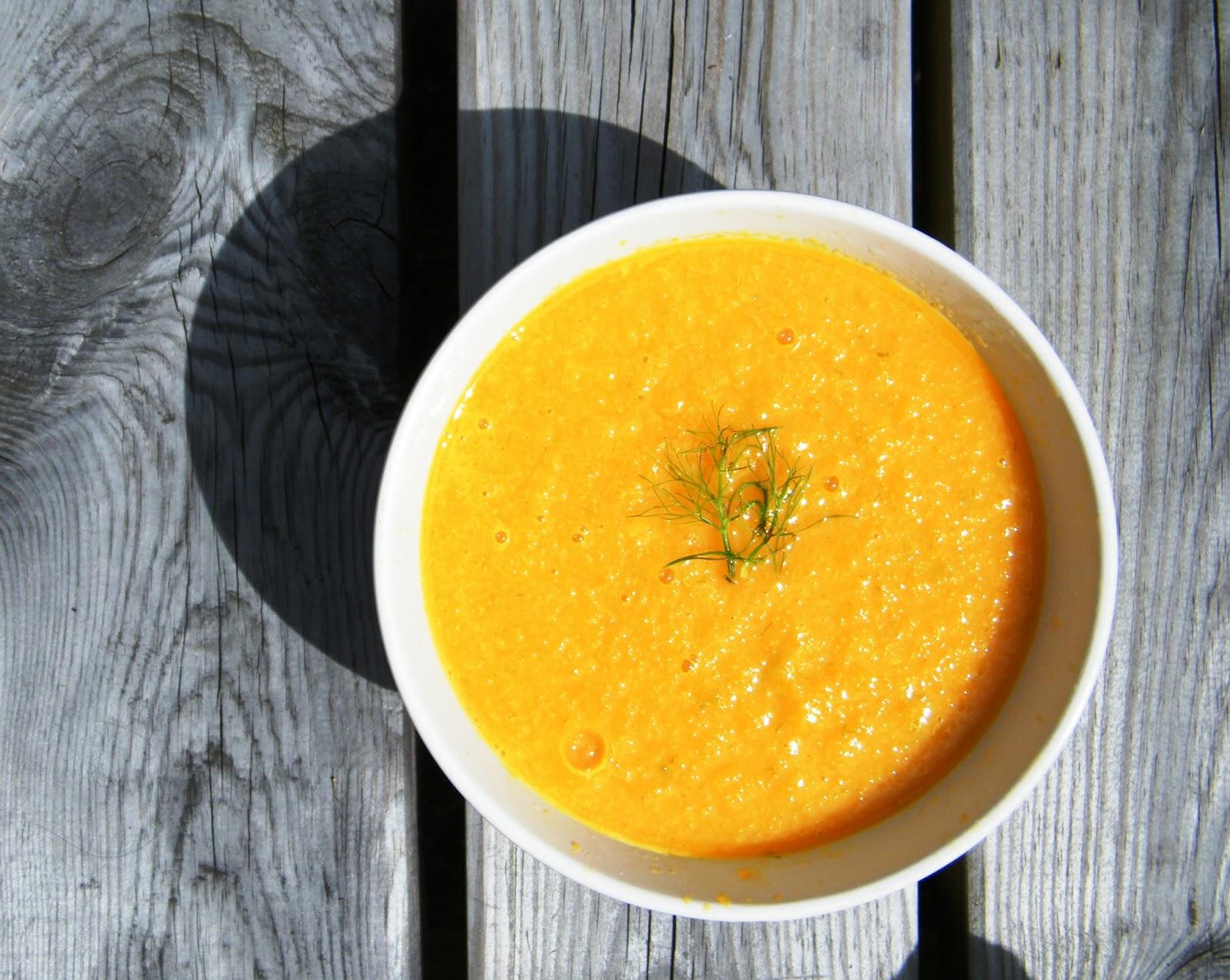 Comer rico y sano: Crema de hinojo y zanahoria - photo#32
