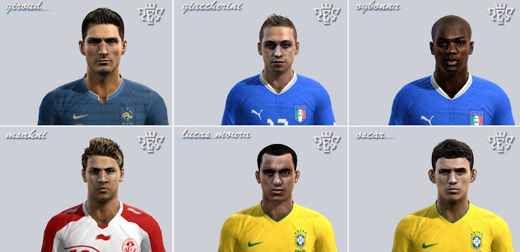 PES 2012 Facepack by el yorugua