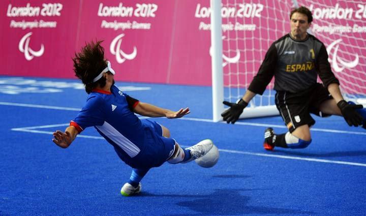 Resultado de imagen para futbol para ciegos