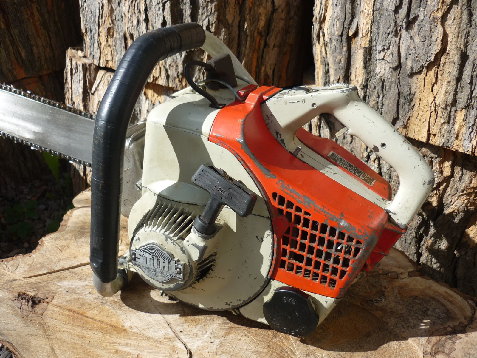 VINTAGE CHAINSAW COLLECTION: STIHL 07S