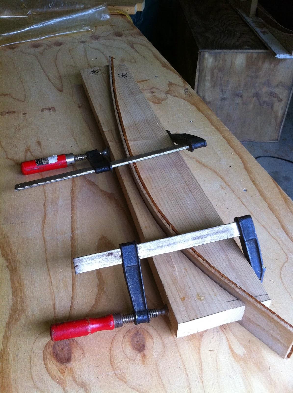 wood boogie board rails