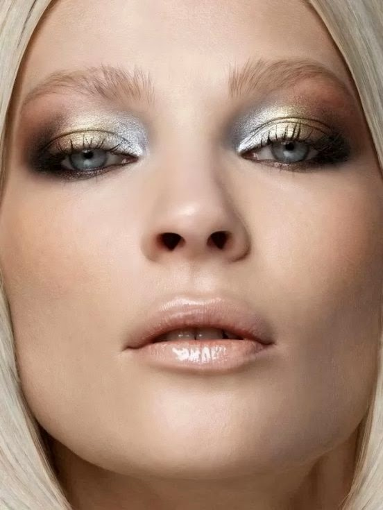 make up per le feste tendenze make up metallico inverno 2015 fashion blog italiani fashion blogger italiane colorblock by felym mariafelicia magno fashion blogger make up winter trends metallic make up