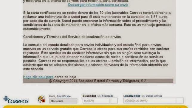 Descubren un troyano que «secuestra» el PC a través de un email de Correos falso