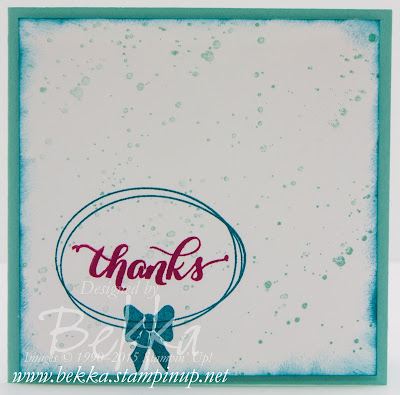 Pretty Thankful - Three Quick Thank You Cards
