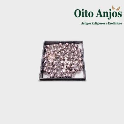 Colar Terço Masculino | Oito Anjos Artigos Religiosos e Loja Esotérica