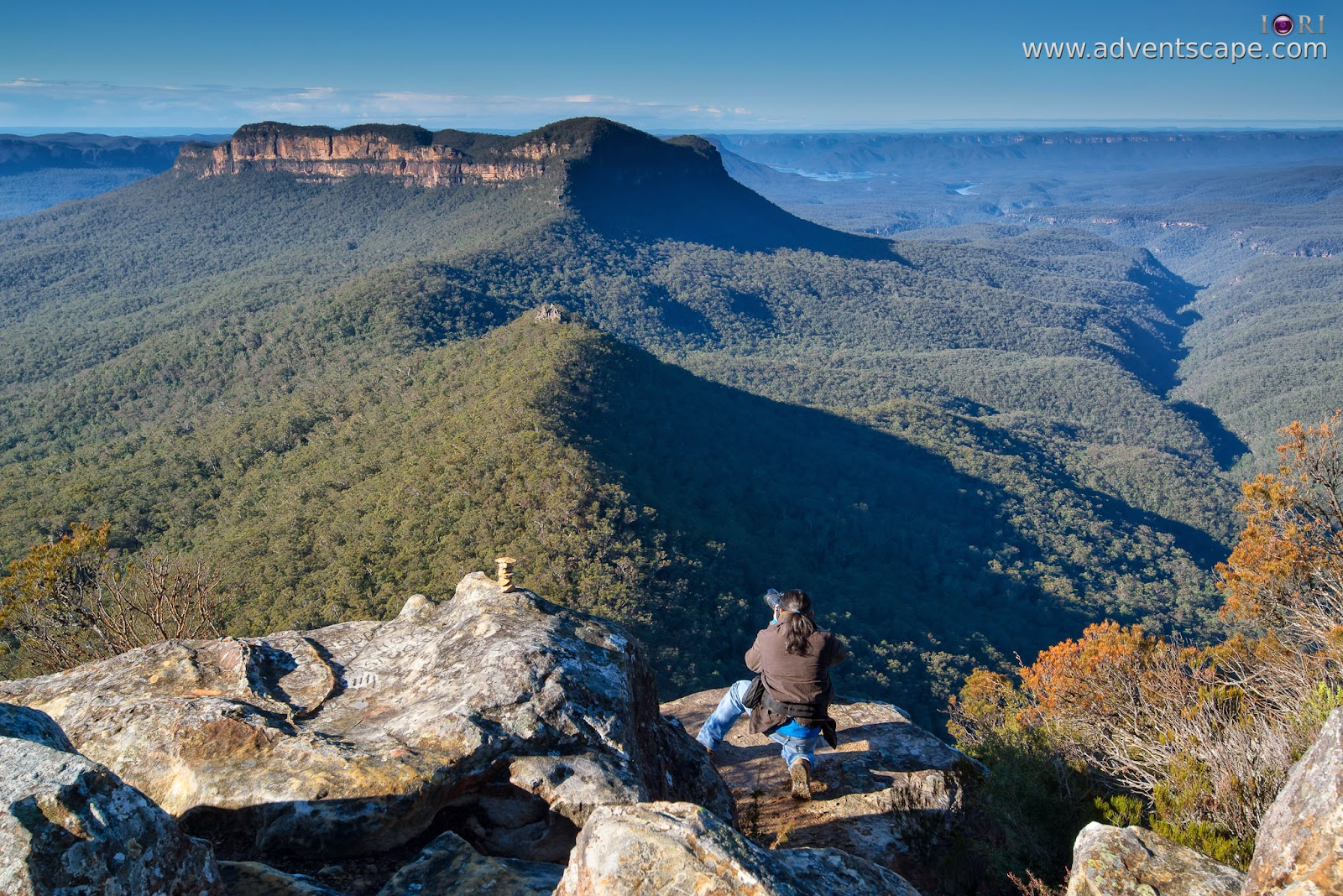 2780, Australia, Australian Landscape Photographer, blogger, Blue Mountain, bushwalk, Castle Head, gate, Glenraphael, Katoomba, lookout, Narrow Neck, New South Wales, NSW, Philip Avellana
