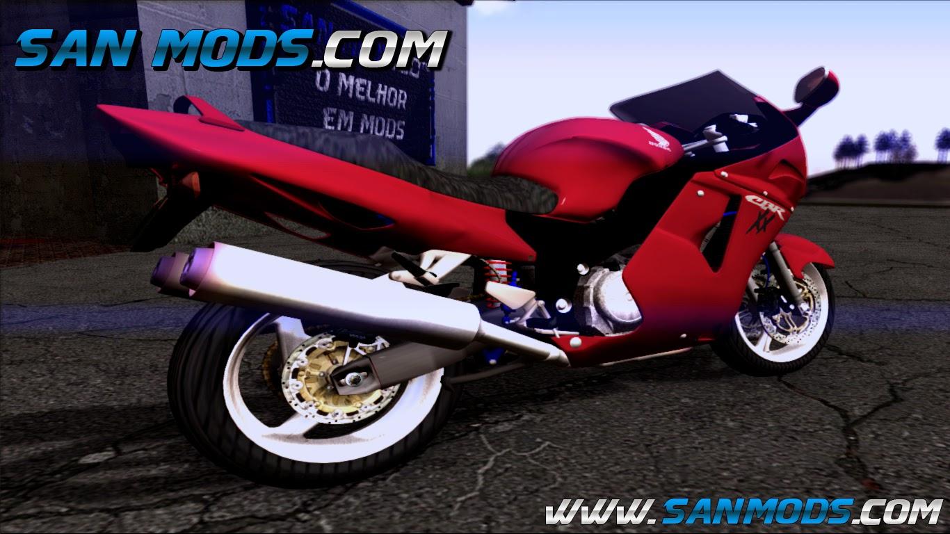 Bicicleta desnuda Honda cbr1100xx
