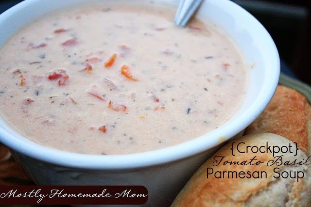 Basil Parmesan Soup – This is a creamy twist to regular tomato soup ...