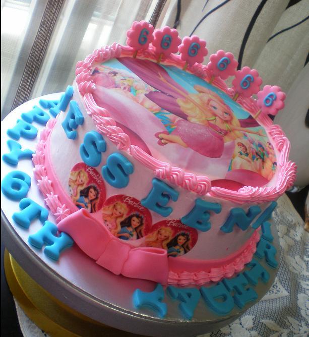 Photo Cake Images Edible : BIRTHDAY CAKE : Edible Image Princess Cakeschocolates ...