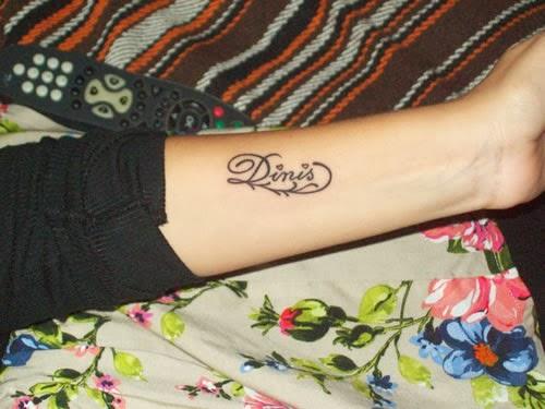 Tatuagem de nome