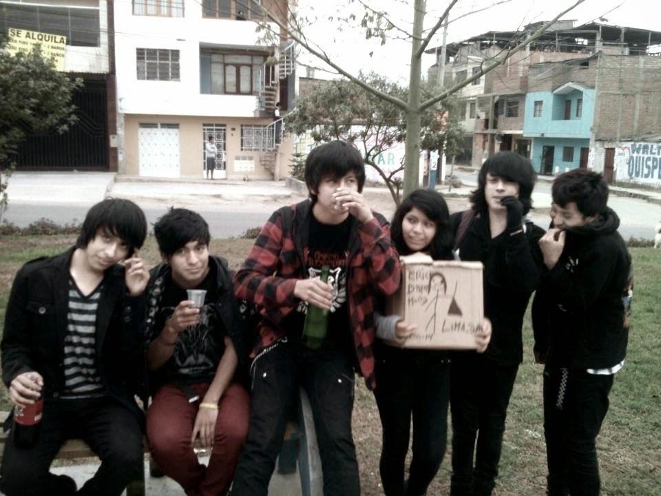 Steven, Crhis, Luis Noe, Erika, Erick, Jhon