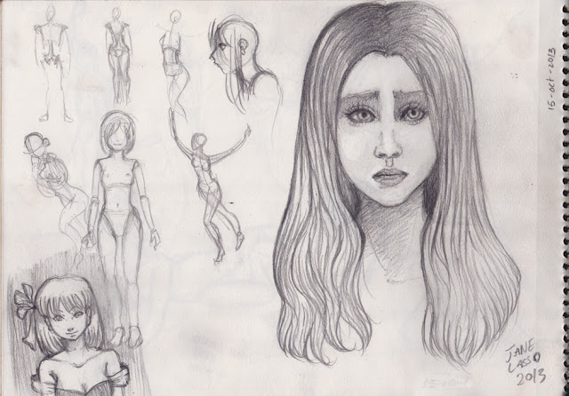 Dibujos en mi libreta
