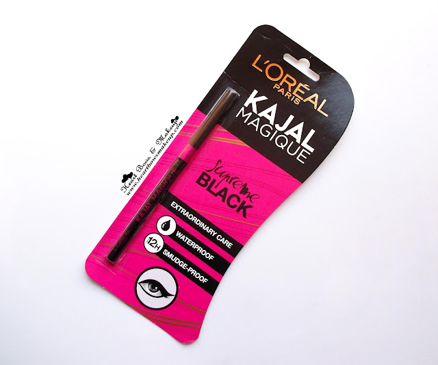 Loreal Kajal Magique Review Swatches Loreal Kajal Review