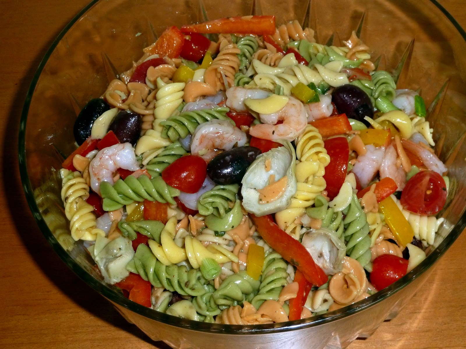 ... and Cooking, A Tale of Two Loves: Mediterranean Pasta Salad and More