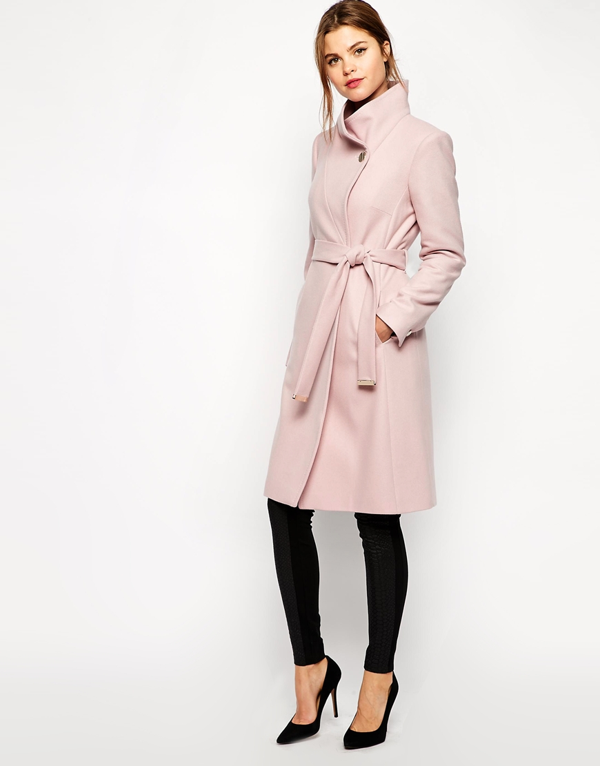 http://www.asos.com/Ted-Baker/Ted-Baker-Belted-Wrap-Coat-in-Pale-Pink/Prod/pgeproduct.aspx?iid=4406402&cid=2641&sh=0&pge=0&pgesize=204&sort=-1&clr=Pale+pink&totalstyles=678&gridsize=3