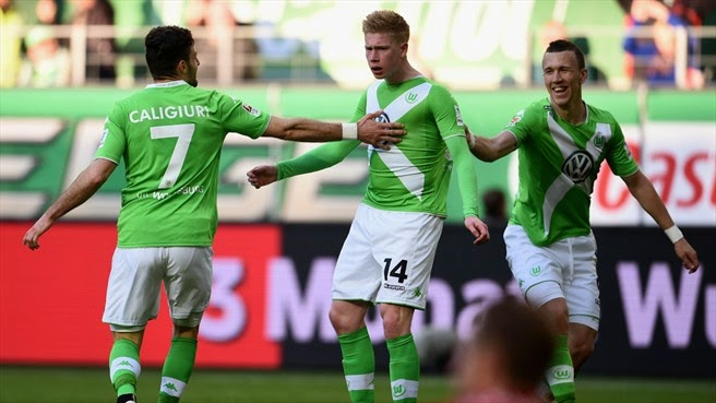 Highlights Wolfsburg 1 – 1 Schalke (Bundesliga)