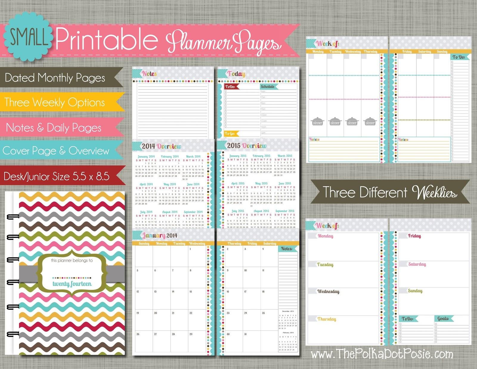 organization weekly planner