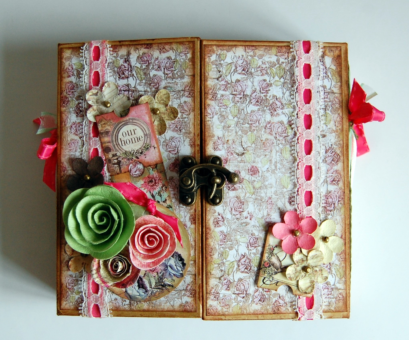 My Crafty Madness Prima Gatefold Mini Album