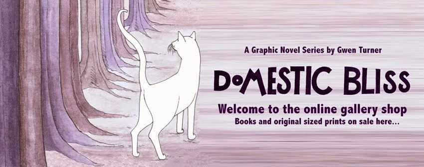 Domestic bliss graphic novel series by Gwen Turner