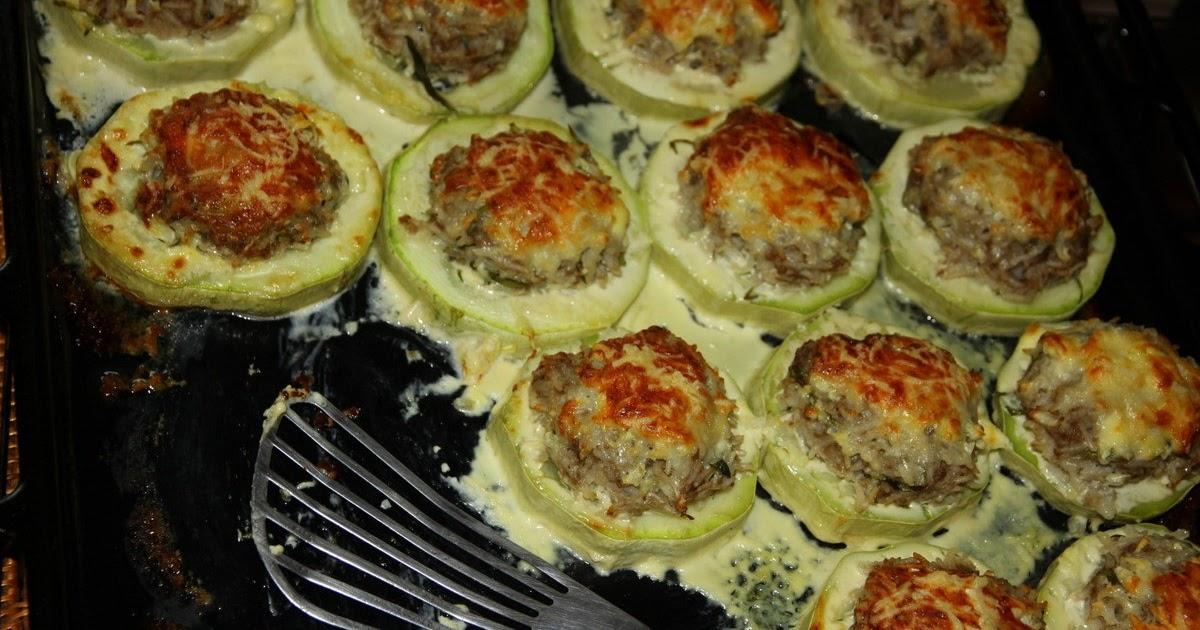 Кабачки с начинкой в духовке рецепт пошаговый