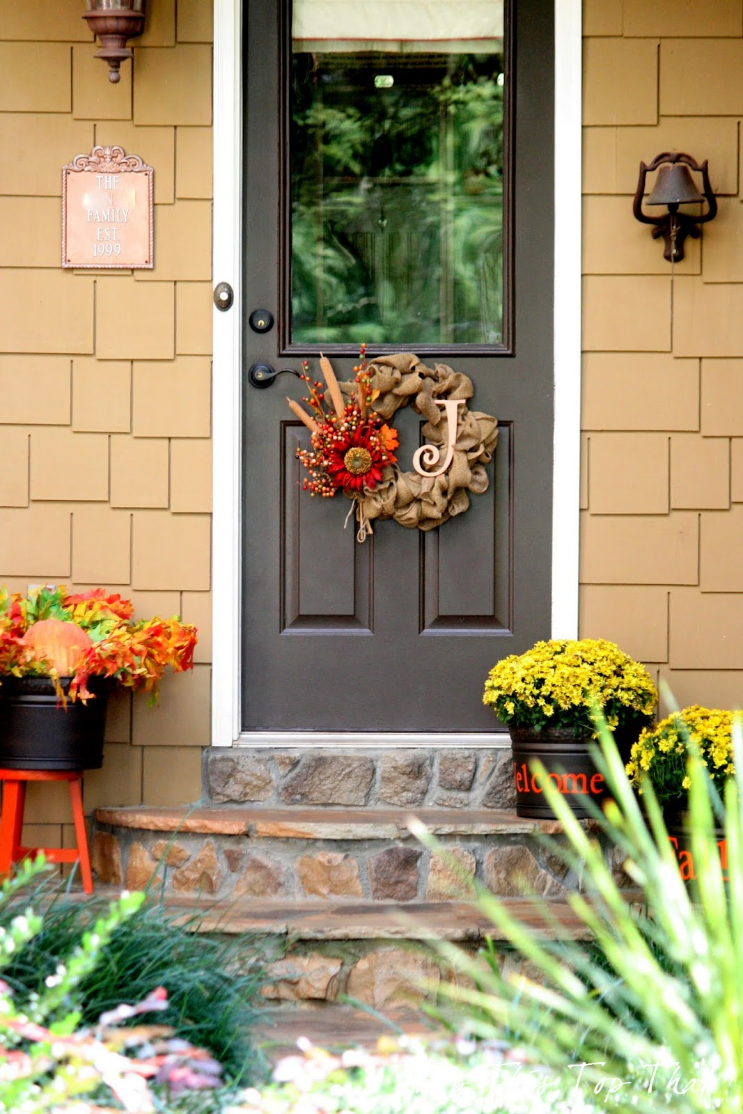 Fall Decor for the Side Door Duke Manor Farm