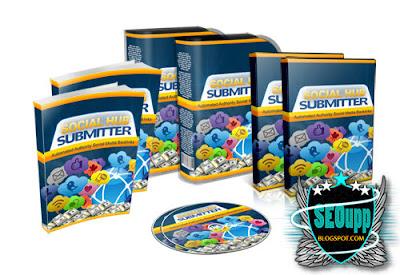 طريقة نشر مواضيعك على صفحاتك في مواقع التواص الاجتماعي دفعة واحدة - برنامج Social Hub Submitter 1.0.0.36 2015