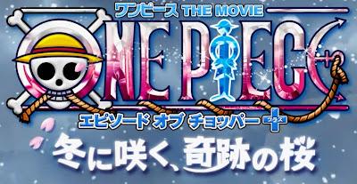 Logo Film Episode of Chopper Plus Bloom in Winter, Miracle Sakura