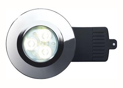 The DLFNW fire rated shower LED downlight - Neutral White energy saving EvoLED light
