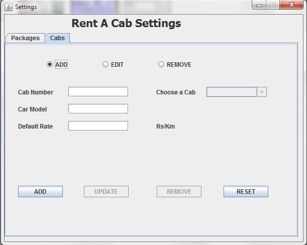 core java project desktop application cab invoice generator code