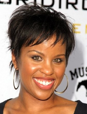Jewelry, Fashion and Celebrities: Black People Short Hair