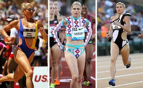 Maggie Vessey นักวิ่งระยะกลางจากอเมริกา ร่วมมือกับ Merlin Castell ดีไซน์ชุดวิ่งของตัวเอง เกร๋ไม๊ล่ะ