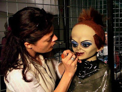 Drag Makeup for Seed Of Chucky - on a Puppet