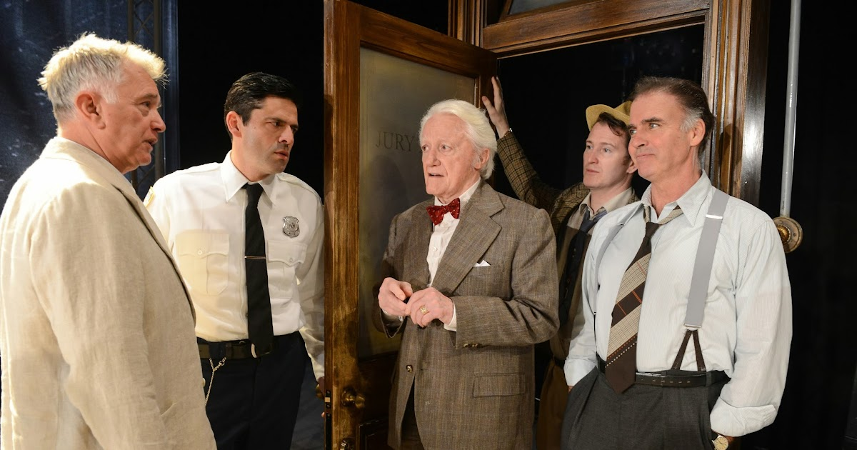 """a brief review of reginald roses play 12 angry men Theater review: 'twelve angry men (with a brief intermission), """"twelve angry men"""" springs these are written in and part of reginald rose's play."""