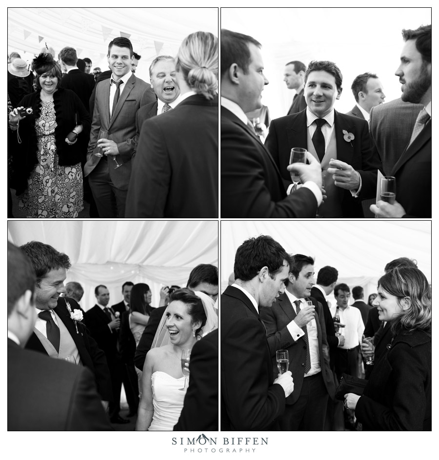 Wedding reception - Simon Biffen Photography