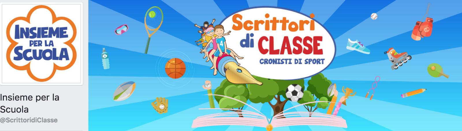 SCRITTORI DI CLASSE SU FACEBOOK