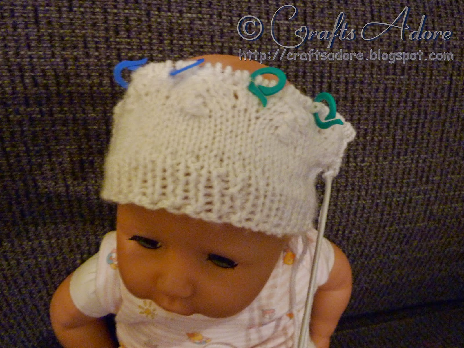 Knitted Unisex Baby Hat