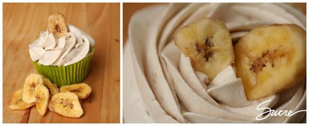 cupcakes de plàtan, cupcakes de plátano, recepta, receta