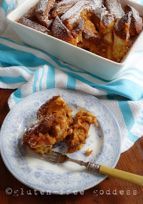 Gluten-Free Pumpkin Bread Pudding by Karina Allrich ©2013