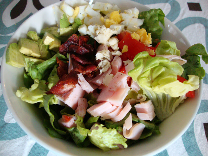 my back pages: lighter cobb salad