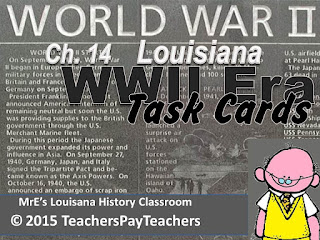 https://www.teacherspayteachers.com/Product/LOUISIANA-Ch-14-WWII-Task-Cards-2279216