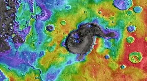 Inilah Gunung Api yang Mirip Toba di Mars
